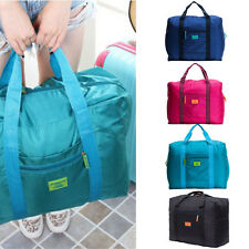 Durable Travel Luggage Bag Nylon Duffle Luggage Clothes Storage Bag Portable