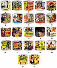 Lampshades Ideal To Match John Wayne Films Posters, Cowboy & Western Wall Art