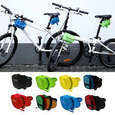 Outdoor Cycling Bike Bicycle Seat Saddle Rear Seat Bag Tail Pouch Storage VE
