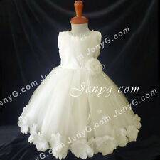 MFII6 Baby Girls Christening Baptism First Holy Communion Formal Prom Dress Gown