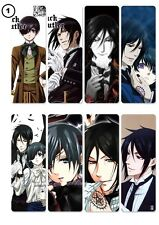 New Japanese Anime Manga Black Butler 8 PVC Bookmarks