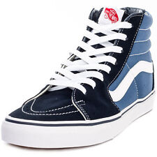 Vans Sk8-hi Classic Womens Trainers Navy New Shoes
