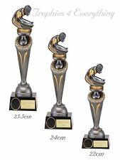 """Pool Snooker Trophy Award 3 Sizes on Marble Bases"""" FREE ENGRAVING"""""""