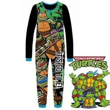 TMNT Teenage Mutant Ninja Turtles Boys Sleepwear  Pyjamas Sizes 3 - 8 New