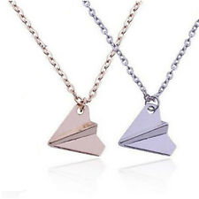 Fashion Men Necklace One Direction Band Harry Styles Paper Airplane Pendant