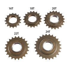 16/18/20/22/24T Tooth Single Freewheel BMX Bike Bicycle Speed Sprocket Part
