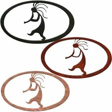 7055 Inc. Southwest Kokopelli Oval Metal Decor
