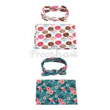 Baby Kids Newborn Blanket Backdrop Wrap Cloth Prop Outfits Set Photo Photography