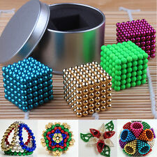 216pcs 5mm Magnet Magic Ball Square 3D Puzzle Cube Ball Sphere Creative Kids Toy