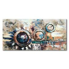 Oil Painting Handmade Modern Texture 3D Picture Abstract Canvas Art Wall  Frame