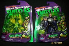 TMNT Teenage Mutant Ninja Turtles Shredders Monkey Fugitoid Frog Bebop Splinter