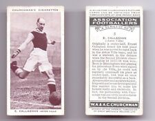 CHURCHMAN Association Footballers football cards Series 1 and 2 - VARIOUS