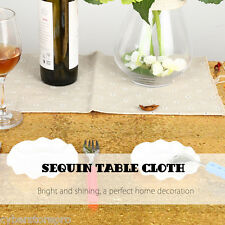 180 x 120cm Glitz Sequin Table Cloth for Weeding Party