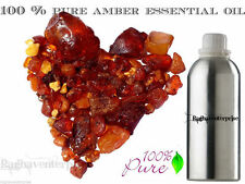 Amber Essential Oil Pure Natural Organic Aromatherapy Therapeutic 5 ml - 500 ml
