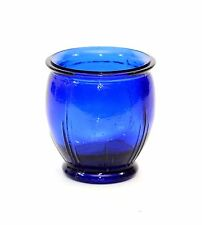 "Cobalt Votive Tea Light Candle Holder, Spanish Recycled Glass-3.25""H x 3""W"