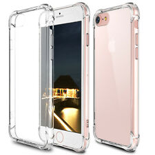 """For iPhone 6s Plus 5.5"""" Case Clear Hybrid Shockproof Soft TPU Bumper Back Cover"""