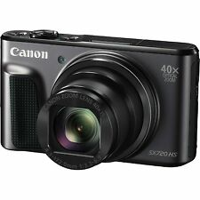 Canon PowerShot SX720 HS Compact Digital Camera - Black [w/ or w/o Leather Case]