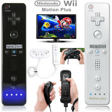 Black Remote Nunchuck Controller Pro Classic Game Joypad For Nintendo Wii/Wii U