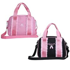 Youth Girls Dance Swim Duffle Bag Ballet Pack Multicolored Dance Embroidered