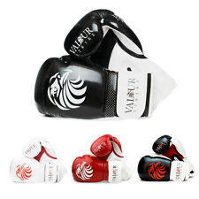 Pro Boxing Gloves Sparring Glove Punch Bag Training MMA Mitts Leather Kickboxing