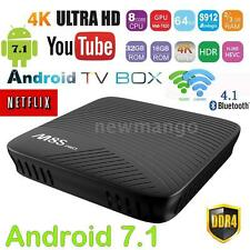 M8S PRO DDR4 Android 7.1 Amlogic S912 Octa-core TV Box Dual WIFI 4K Media Player