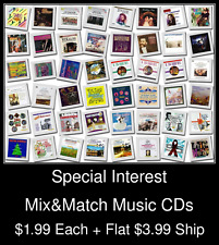 Special Interest(1) - Mix&Match Music CDs @ $1.99/ea + $3.99 flat ship