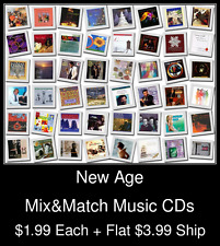 New Age(1) - Mix&Match Music CDs @ $1.99/ea + $3.99 flat ship