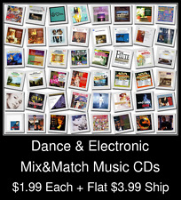 Dance & Electronic(2) - Mix&Match Music CDs @ $1.99/ea + $3.99 flat ship