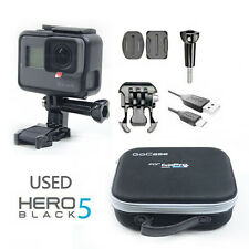 Used GoPro HERO 5 Waterproof Action 4K Ultra Camera Touch Screen 12MP