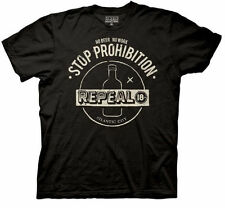 NEW HBO Boardwalk Empire Stop Prohibition Repeal T-Shirt Tee Top Black TV Show