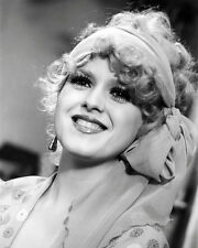 Bernadette Peters Poster or Photo Lovely B/W Smiling Glamour Portrait