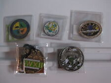 Official Event Geocoin from GeoWoodstock ~ Your Choice various years/GWS events