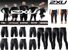 2XU Men Compression Tights Fitness Pants Running Sports Gym Cycling
