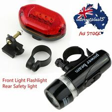 LED Bicycle Bike Cycling Silicone Head Front Rear Wheel Safety Light Lamp MX