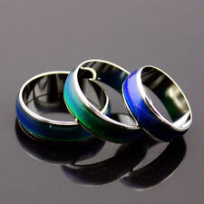 1PC Amazing Change Color Temperature Mood Rings Emotional Feeling Band 16MM-20MM