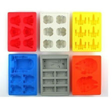 Silicone Mold Star Wars Ice Tray Ice Cube Chocolate Fondant Soap Baking PW06
