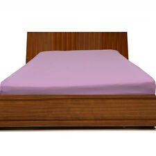 """1000TC Egyptian Cotton UpTo30""""Inch Deep Pocket Fitted Sheet All Size Lilac Solid"""