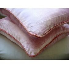 Solid Color Pink Velvet 30x30 cm Cushion Covers - Soft Pink Shimmer