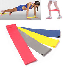 Exercise Loop Resistance Bands Weight Fitness Crossfit Strength Training