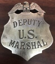 DEPUTY US MARSHAL BADGE (BADGES OF THE OLD WEST)