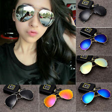 Polarized Unisex Sunglasses Vintage Retro Fashion Women Men Aviator Eyewear
