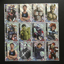 TOPPS MARVEL HERO ATTAX CINEMATIC UNIVERSE 2016 TRADING CARDS UNIQUE HOLOGRAPHIC