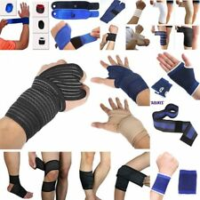 AU Support Brace Guard Bandage Injury Wrap For Knee/Hand/Thigh/Calf/Elbow/Wrist