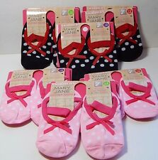 2 Skidders Mary Jane Gripper Socks Size Choice 12 Months 18 Months 24 Months