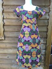 New Colourful White Stuff lined dress tunic mauve Top quality. RRP £59