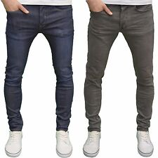 Eto Mens Designer Branded Super Skinny Stretch Reflex Straight Leg Jeans, BNWT
