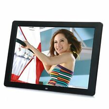 "15"" inch HD LCD Digital Photo Frame Picture MP4 Movie Player Remote Control LS"