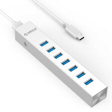 ORICO Aluminum 7 or 4 Ports USB 3.0 High Speed Portable Hub For Laptop MAC