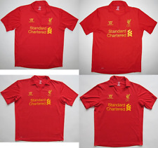 Liverpool FC 2012/13 2013 home red jersey shirt camiseta soccer Warrior M L 2XL