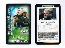 TOP TRUMPS Football Managers Limited Edition cards – VARIOUS